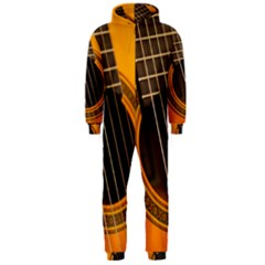 Vintage Guitar Acustic Hooded Jumpsuit (men)