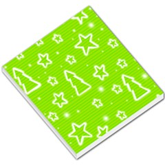 Green Christmas Small Memo Pads by Valentinaart