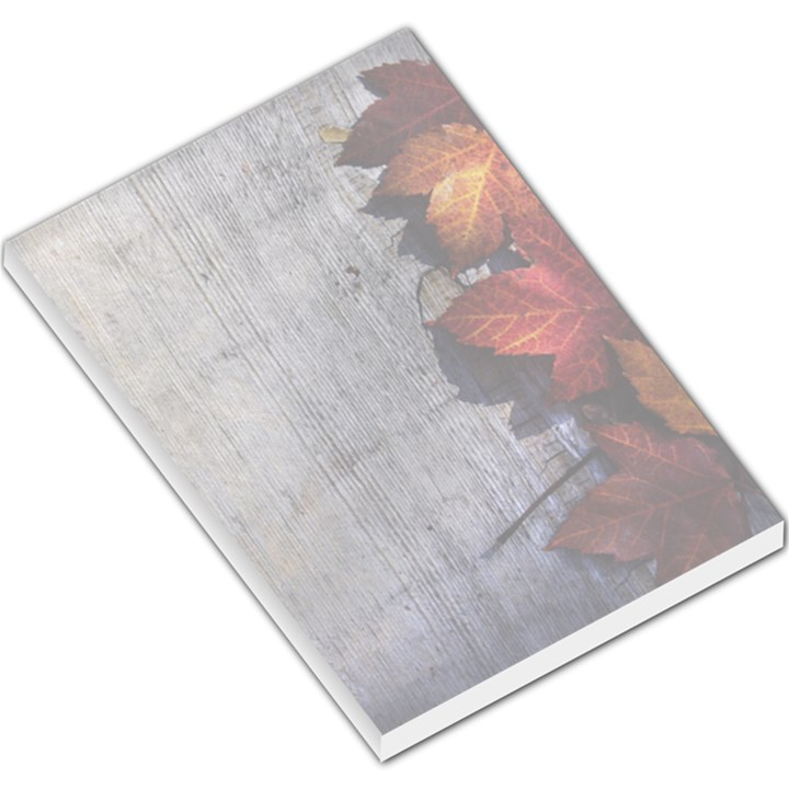 Fall Leaves Large Memo Pad