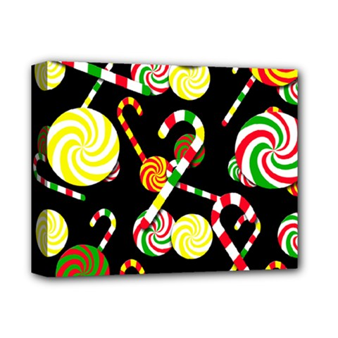 Xmas Candies  Deluxe Canvas 14  X 11  by Valentinaart