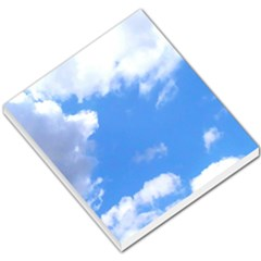 Clouds And Blue Sky Small Memo Pads by picsaspassion
