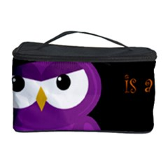 Who Is A Witch?   Purple Cosmetic Storage Case by Valentinaart