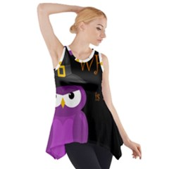 Who Is A Witch?   Purple Side Drop Tank Tunic