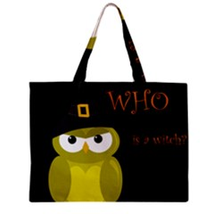 Who Is A Witch?   Yellow Mini Tote Bag