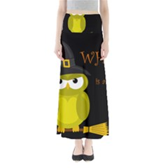 Who Is A Witch?   Yellow Maxi Skirts by Valentinaart