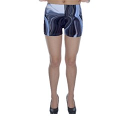 Metallic And Chrome Skinny Shorts by digitaldivadesigns