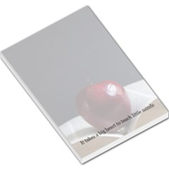 Apple Large Memo Pad by PhotoThisxyz