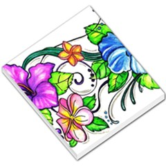 Tropical Hibiscus Flowers Small Memo Pads by EverIris