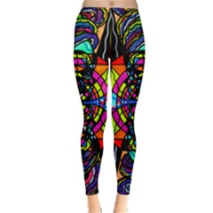 Planetary Vortex   Classic Winter Leggings by tealswan