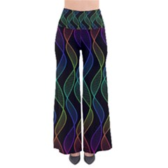 Rainbow Helix Black Pants by designworld65