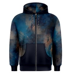 Blue Tech Men s Zipper Hoodie