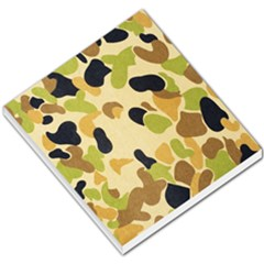Camouflage Pattern Army Small Memo Pads by AnjaniArt