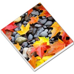 Colorful Leaves Stones Small Memo Pads by AnjaniArt