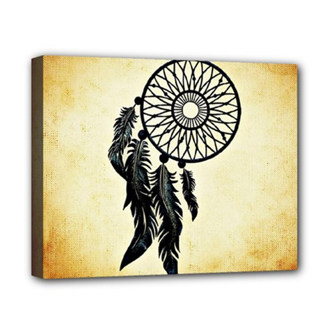 Dream Catcher Canvas 10  X 8  by AnjaniArt