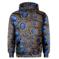 Feathers Peacock Light Men s Pullover Hoodie
