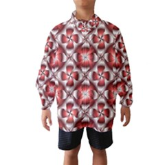 Floral Optical Illusion Wind Breaker (kids)
