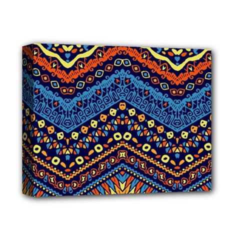 Cute Hand Drawn Ethnic Pattern Deluxe Canvas 14  X 11  by AnjaniArt