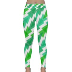 Geometric Art Pattern Classic Yoga Leggings