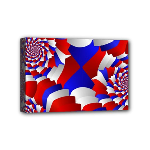 Happy Memorial Day Mini Canvas 6  X 4  by AnjaniArt