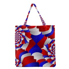 Happy Memorial Day Grocery Tote Bag