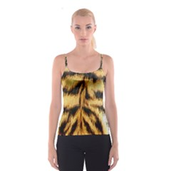 Tiger Fur Painting Spaghetti Strap Top