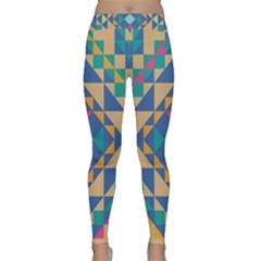 Tiling Pattern Classic Yoga Leggings by AnjaniArt