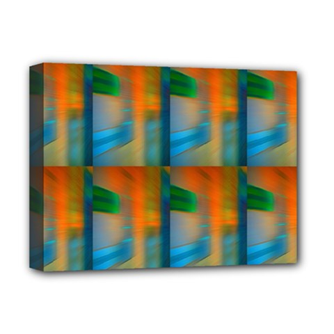 Wall Of Colour Duplication Deluxe Canvas 16  X 12