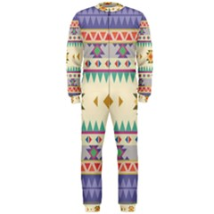 Your First Aztec Pattern Onepiece Jumpsuit (men)