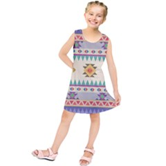 Your First Aztec Pattern Kids  Tunic Dress