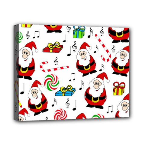 Xmas Song Canvas 10  X 8  by Valentinaart