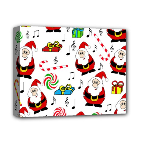 Xmas Song Deluxe Canvas 14  X 11  by Valentinaart