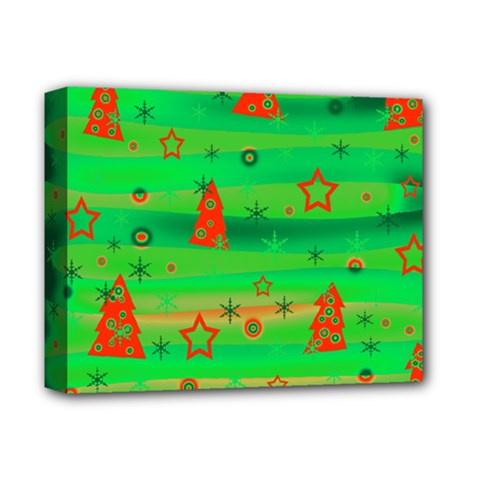 Xmas Magical Design Deluxe Canvas 14  X 11  by Valentinaart