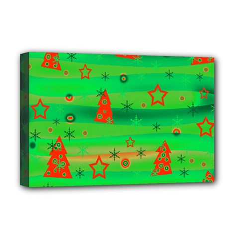 Xmas Magical Design Deluxe Canvas 18  X 12   by Valentinaart