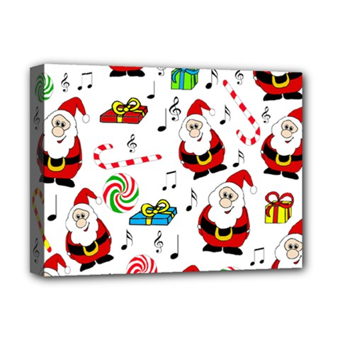 Xmas Song Deluxe Canvas 16  X 12   by Valentinaart