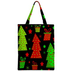 Merry Xmas Zipper Classic Tote Bag by Valentinaart