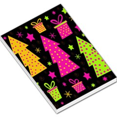 Colorful Xmas Large Memo Pads by Valentinaart