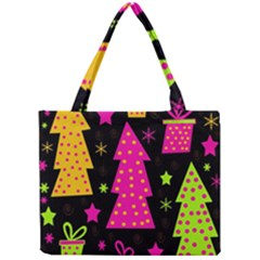 Colorful Xmas Mini Tote Bag by Valentinaart