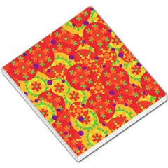 Orange Design Small Memo Pads by Valentinaart