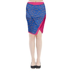 1n Midi Wrap Pencil Skirt by Wanni