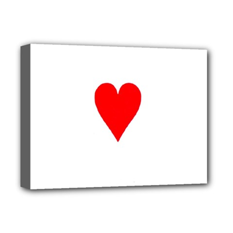 Cart Heart 03 Tre Cuori Deluxe Canvas 16  X 12