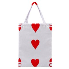 Cart Heart 03 Tre Cuori Classic Tote Bag by AnjaniArt