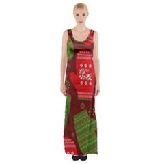 Glavniii Sait New Year Ceny Maxi Thigh Split Dress by AnjaniArt
