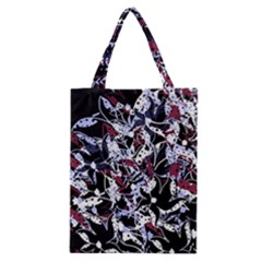 Decorative Abstract Floral Desing Classic Tote Bag by Valentinaart