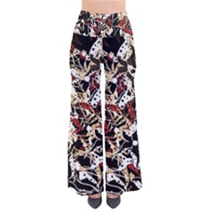 Abstract Floral Design Pants