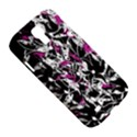 Purple abstract flowers Samsung Galaxy S4 I9500/I9505 Hardshell Case View5