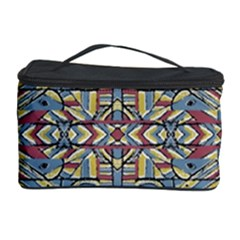Multicolor Abstract Cosmetic Storage Case by dflcprintsclothing