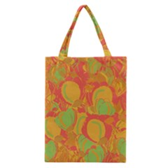 Orange Garden Classic Tote Bag by Valentinaart
