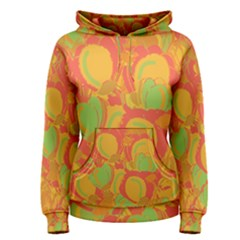 Orange Garden Women s Pullover Hoodie