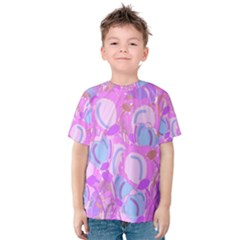 Pink Garden Kids  Cotton Tee