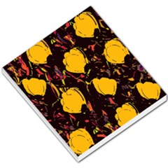 Yellow Roses  Small Memo Pads by Valentinaart